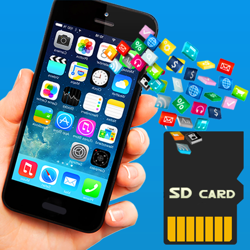 Move Apps Phone to SD card icon