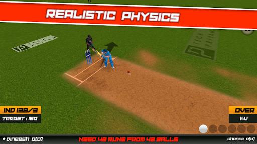 Cricket Superstar League 3D screenshot 9