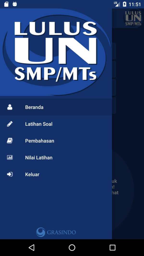 Grasindo Lulus UN SMP/MTs screenshot 1