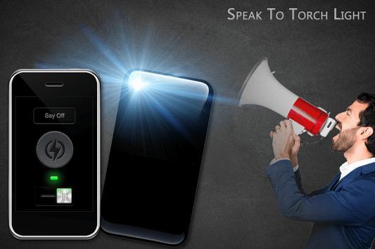 Voice Flashlight screenshot 1