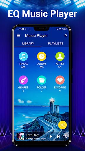 لاعب الموسيقى - مشغل MP3 2 تصوير الشاشة