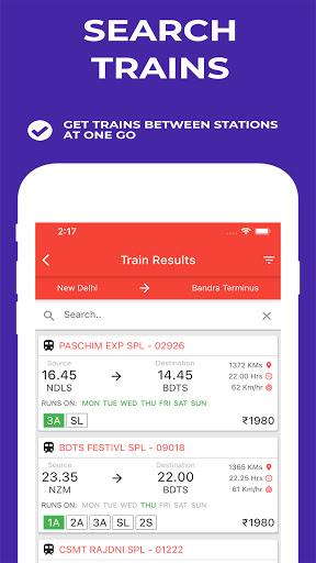 Indian Railway Timetable - Live train location screenshot 6
