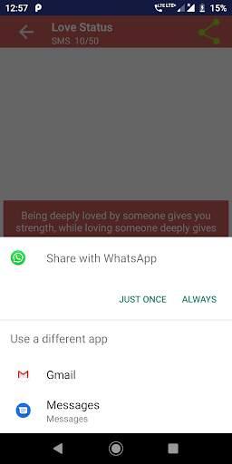 2020 Love Status screenshot 7