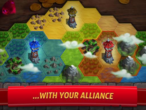 Royal Revolt 2: إمبراطورية RPG - حرب جيش تصادم 16 تصوير الشاشة