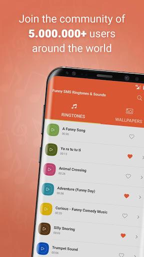 Funny SMS Ringtones & Sounds screenshot 1