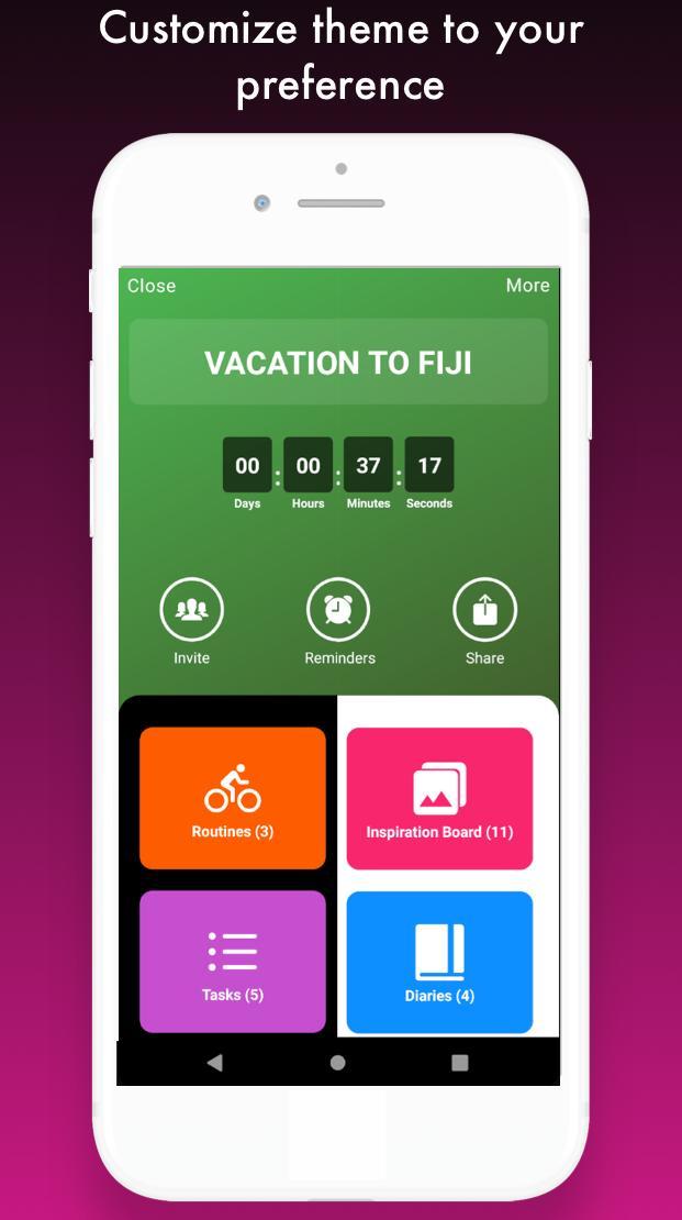 Vervo - Goal tracker & habit tracker app screenshot 8