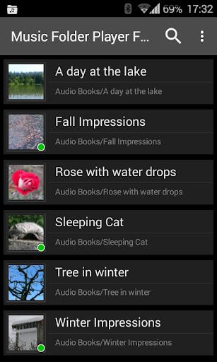 Music Folder Player Free 5 تصوير الشاشة