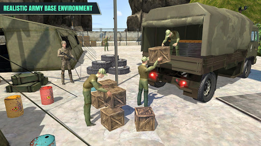 Army Truck Driver : Offroad screenshot 2