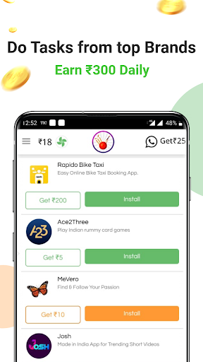 Earn free paytm cash daily | Free recharge 1 تصوير الشاشة
