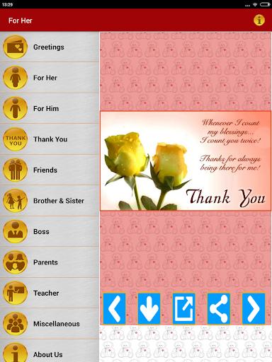 Thank You Greeting Card Images screenshot 9