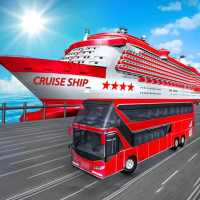 Transport Cruise Ship Game Passenger Bus Simulator on APKTom