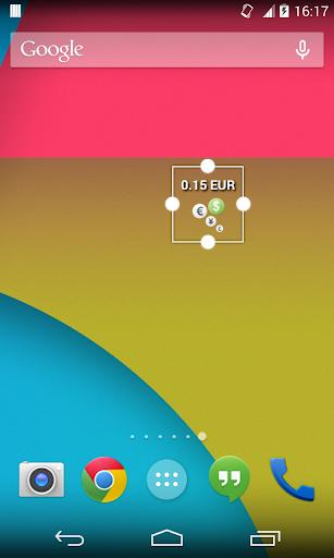 CheckBalance Widget screenshot 5