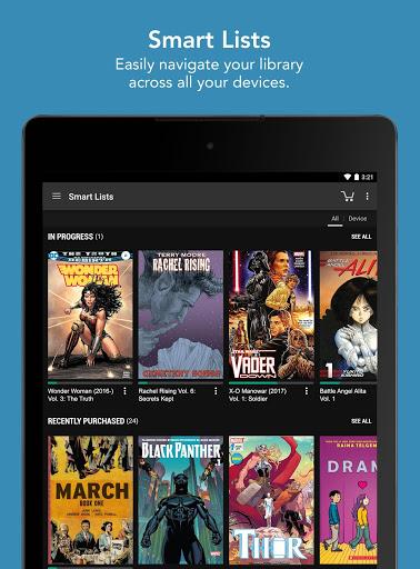 Comics 14 تصوير الشاشة