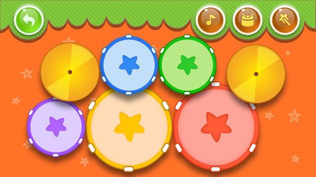 Music kids - Songs & Music Instruments 3 تصوير الشاشة