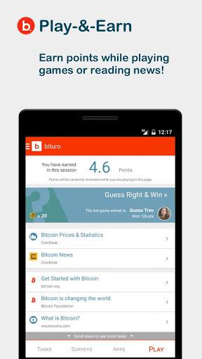 bituro - Rewards & Bitcoins screenshot 4