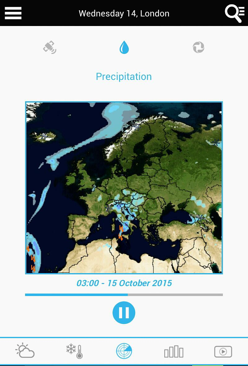 Weather for the Netherlands 14 تصوير الشاشة
