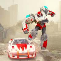Steel Robot Fighting 2019: Car Transformation on 9Apps