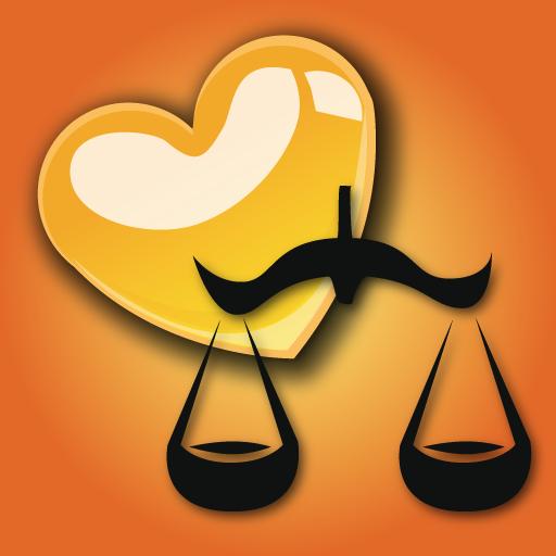 Zodiac love compatibility icon
