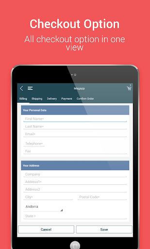 Niftyapp - Magento Mobile App screenshot 16