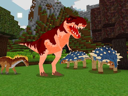 JurassicCraft: Free Block Build & Survival Craft screenshot 18