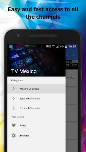 TV Mexico Channels Info screenshot 1