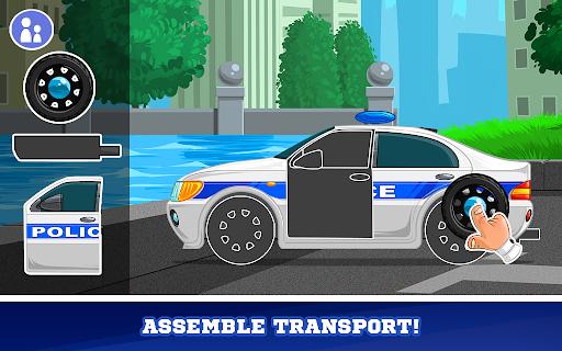 Kids Cars Games! Build a car and truck wash! screenshot 2