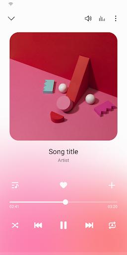 Samsung Music 1 تصوير الشاشة