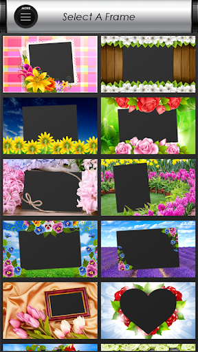 Flowers Photo: Frames, Editor, Stickers & Collage screenshot 4