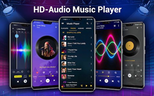 Music Player - Bass Booster & Free Music screenshot 1