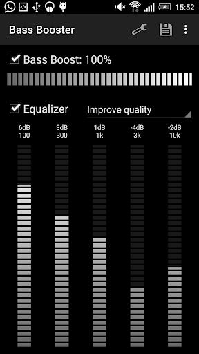 Bass Booster - Music Equalizer screenshot 1