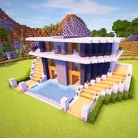 Craft World - Master Building Block Game 3D on 9Apps