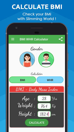 BMI Calculator & WHR Ratio 1 تصوير الشاشة