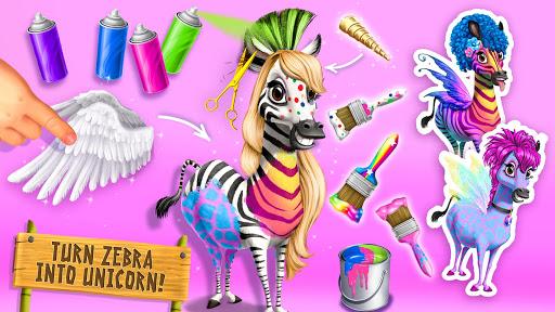 Jungle Animal Hair Salon 2 - Tropical Beauty Salon स्क्रीनशॉट 8