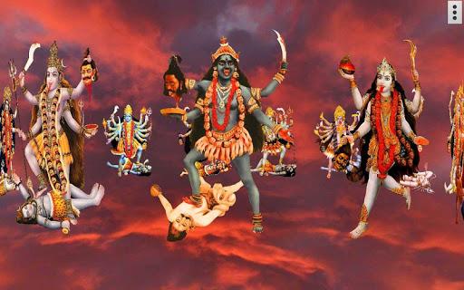 4D Maa Kali Live Wallpaper 7 تصوير الشاشة