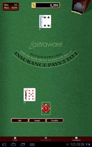 Astraware Casino 21 تصوير الشاشة