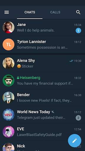 Telegram X screenshot 2