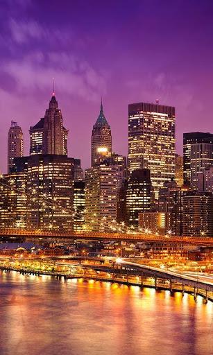 المدينة ليلا للجدران لايف 7 تصوير الشاشة