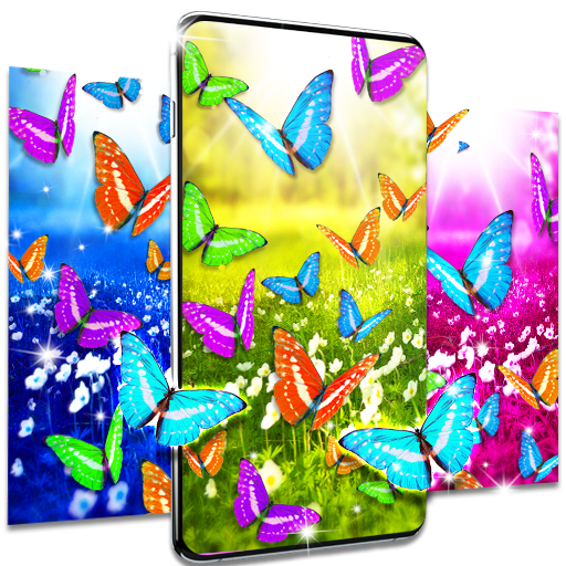 Butterflies live wallpaper icon
