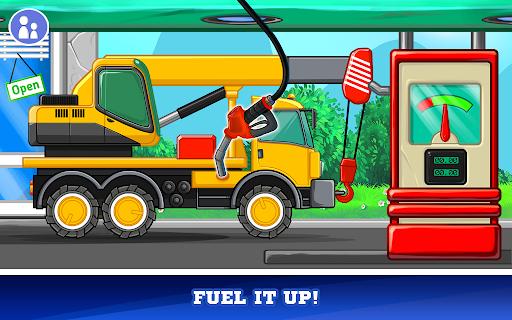 Kids Cars Games! Build a car and truck wash! screenshot 4