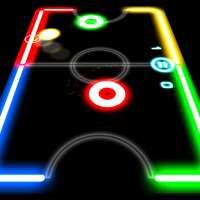 Glow Hockey on 9Apps