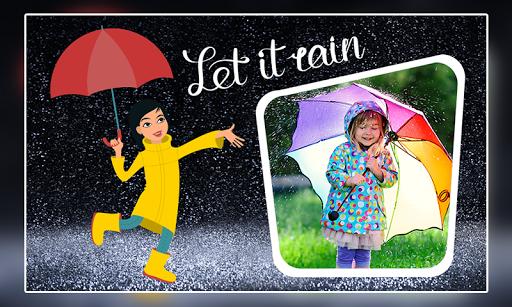 Rain Photo Frames 2 تصوير الشاشة
