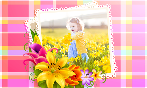 Flowers Photo: Frames, Editor, Stickers & Collage screenshot 13