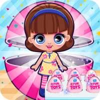 Dolls Surprise Kinder Eggs on 9Apps