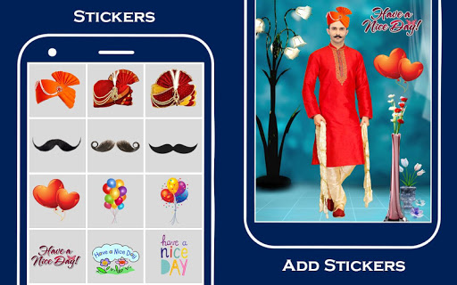 Men Sherwani Suit Photo Editor screenshot 3