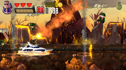 Ramboat - Offline Shooting Action Game screenshot 2