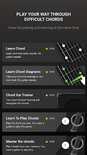 GuitarTuna - Tuner for Guitar Ukulele Bass & more! 4 تصوير الشاشة