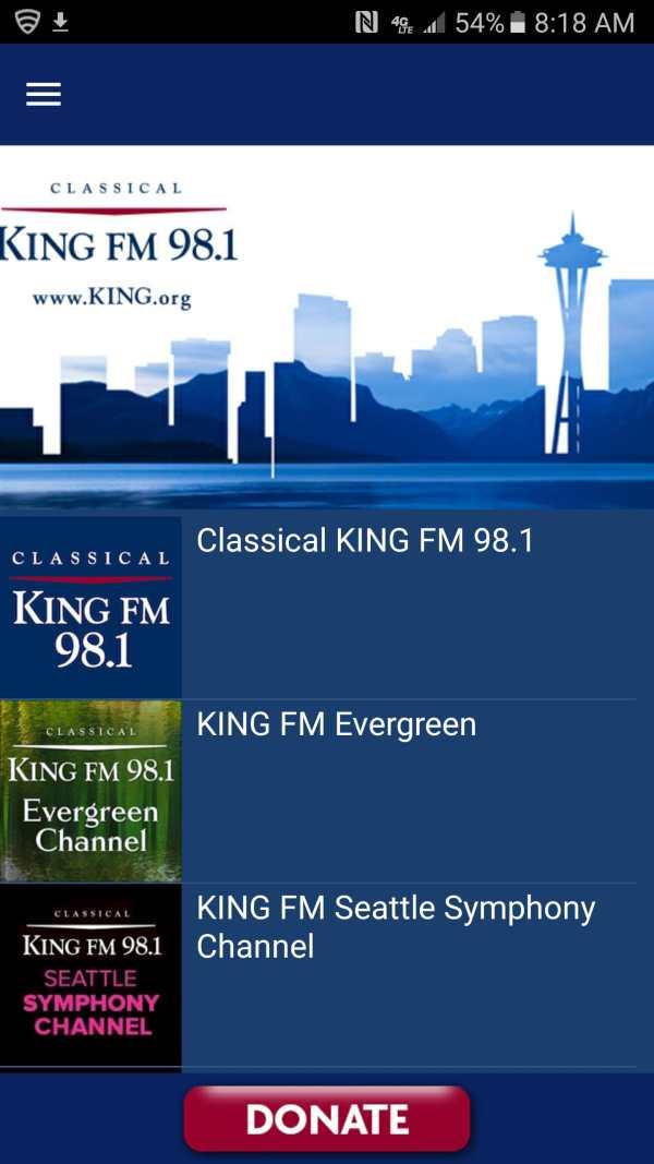 Classical KING FM скриншот 1