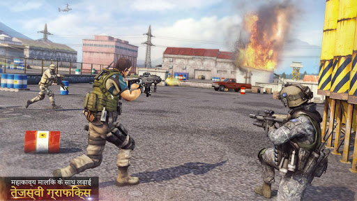 एफपीएस मुठभेड़ शूटिंग 2020 नया शूटिंग खेल स्क्रीनशॉट 2