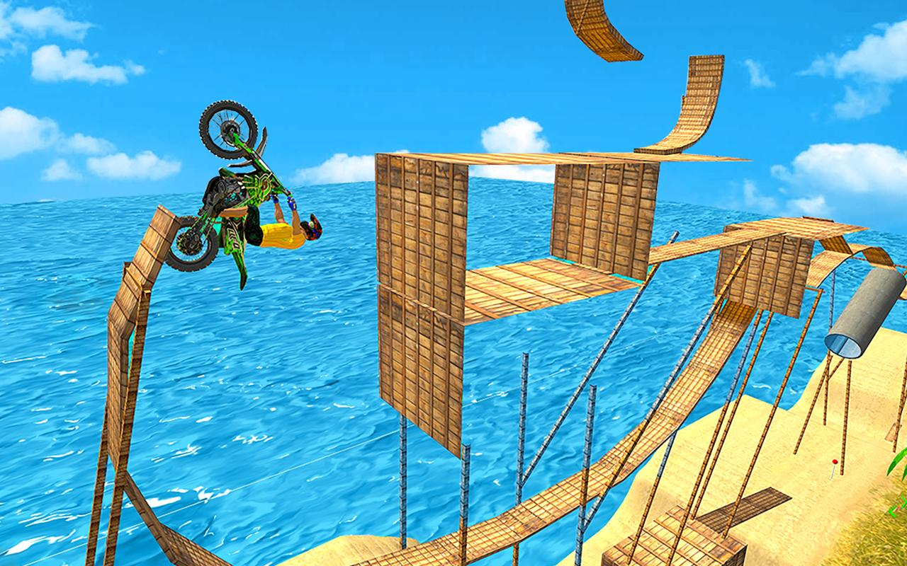 Tricky Bike Moto Stunt Rider screenshot 3