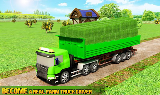 Farm Truck : Silage Game screenshot 1